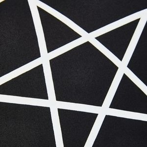 Dolls Kill Accents - DollsKill Pentagram Throw Pillow/Cushion